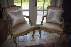 2 French Country Chairs