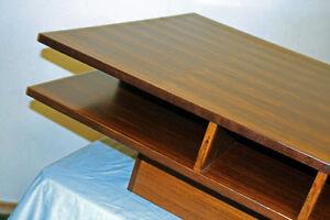 Mid Century Modern Rosewood & Teak Coffee Table SEE VIDEO