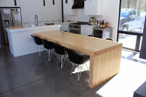 Table sur mesure/ Table Bistro / Butcher block / Rustique West Island Greater Montréal image 10