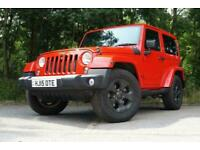 2015 Jeep Wrangler 2.8 CRD OVERLAND 2d 197 BHP Convertible Diesel Automatic