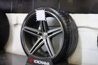 "20"" Mercedes Staggered Setup Tires+Wheels - Vossen"