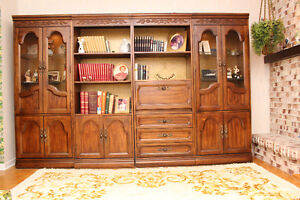 4 bibliotheques ``HOOKER FURNITURE``/bookcase