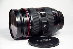 Canon 24-70mm 2.8 i L lens