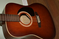 Art & Lutherie Burgundy Acoustic Guitar