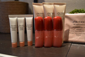 Brand New Shiseido and Kiehls Products