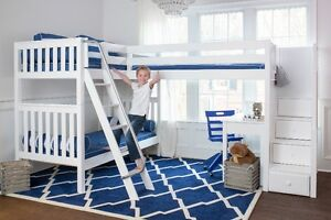 HOLIDAY EXTENDED SALE 15% OFF + FREE MATTRESS_ BUNK & LOFT BEDS