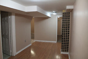 2 bedroom basement, separate entrance,available