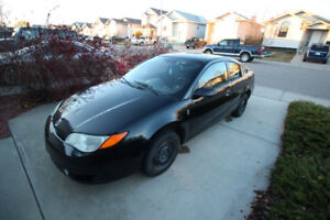 2007 Saturn ION Quad Coupe*  ACCIDENT FREE * LOW KM * GOOD TIRES