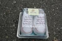 White Gold Bug Walking Shoes - Size 1 - Brand New