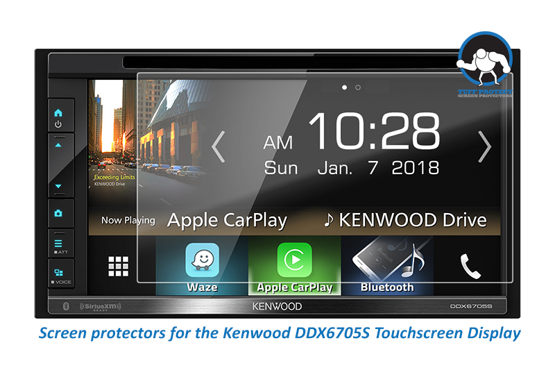 Clear Screen Protectors For Kenwood DDX6705S  - Tuff Protect