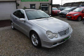 Mercedes-Benz C180 Kompressor 1.8 SE AUTOMATIC SILVER 2003 MODEL +BEAUTIFUL+