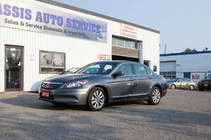 2012 HONDA ACCORD EX-L ONE OWNER ACCIDENT FREE!!!  $14999