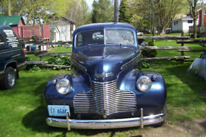 1940 CHEV. 2 DOOR COACH ONE SWEET FAST RIDE