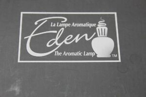 "Eden Aromatic Lamp  ""Lampe Berger""  New   Christmas is coming"