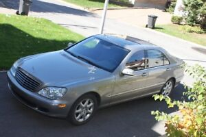 2005 MERCEDES BENZ S430 4 MATIC, (AWD, 4x4) with 35600 km only