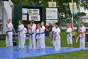 Summer Beginners (7 -12 yrs) Children's Karate at the YMCA Peterborough Peterborough Area image 4