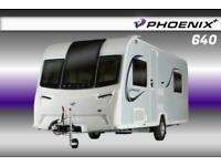 Bailey Phoenix Plus 640, NEW 2021 Touring Caravan