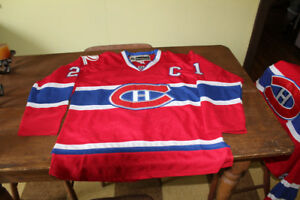 2 x Genuine Reebok Montreal Canadians HABS jerseys