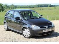 2003/03 Vauxhall/Opel Corsa 1.7DTi 16v Elegance, 73K, FSH,