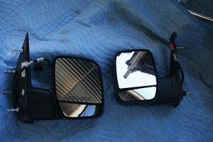 Set of Powered Mirrors for 2005 Ford Van