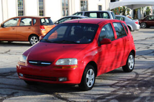 2006 Chevrolet Aveo - $2250 + Taxes AS IS