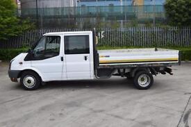 2.4 T350 RWD 4D 115 BHP DOUBLE CAB TWIN WHEEL DROPSIDE VAN 2010