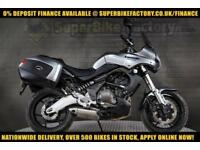 2010 60 KAWASAKI VERSYS 650 KLE 650 A9F 650CC 0% DEPOSIT FINANCE AVAILABLE