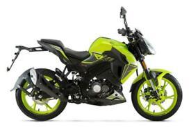 Keeway RKF 125 Naked Flash Green - Euro 5 2021 Model