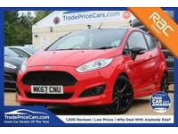 2017 67 FORD FIESTA 1.0 ST-LINE RED EDITION 3D 139 BHP