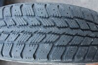 Winter tires with rims -175/65/R14 - $120