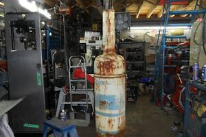 Old gas pump canadian bowser mod J187 from Kingston ontario