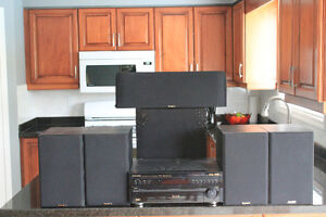 TOP, TOP OF THE LINE RECEIVER AND SPEAKERS
