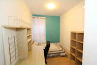 Downtown, Summer sublet, All included Furnished room