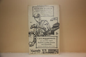 1935 Buffalo Bisons baseball program +