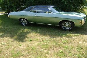 1969 impala 396 cu. in. Big Block.