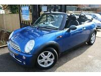 2006 (06) Mini One 1.6 Blue One Owner Convertible One Owner Finance Available