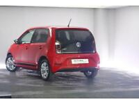 2017 Volkswagen UP Petrol red Manual