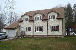 Lakefront Home/Cottage, New, 4 Bdrm, 2 Baths, 1.5hr from Toronto