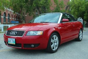 Safetied 2006 Audi A4 Convertible