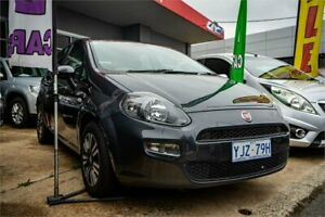 2013 Fiat Punto MY13 Easy Grey 5 Speed Automated Manual Hatchback Fyshwick South Canberra Preview