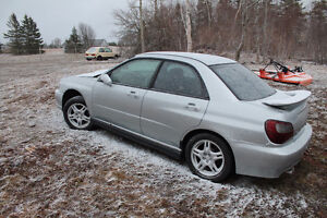2002 wrx shell for sale
