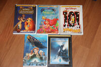 Collection of Classic Disney Dvds