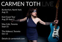 Carmen Toth LIVE at The Fickle Frog Pub