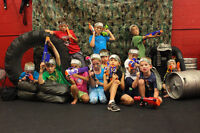 NERF WAR Birthday Parties - Coolest Birthday Ever!!