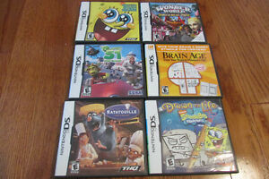 6 DS games in perfect condition London Ontario image 1