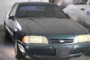 1992 Ford Mustang,Green, Lifter, Black Interior Low Mi 1500 OBO