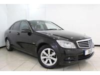 2009 59 MERCEDES-BENZ C CLASS 1.6 C180 KOMPRESSOR BLUEEFFICIENCY SE 4DR AUTOMATI