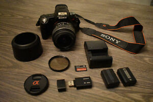 SONY * Alpha 55 * - Great Camara, with a few extras!