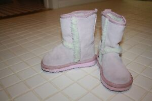 Please Mum girls size 7 toddler Sherpa Boots