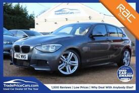 2012 12 BMW 1 SERIES 2.0 125D M SPORT 5D AUTO 215 BHP DIESEL